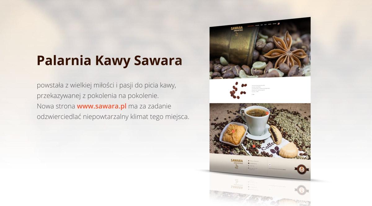 Sawara - animacja webowa